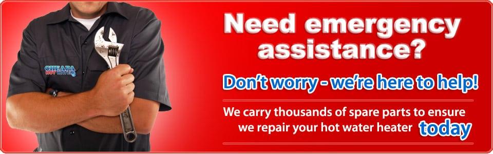 emergency hot water repairs sydney