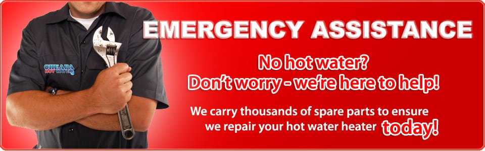 emergency hot water repairs