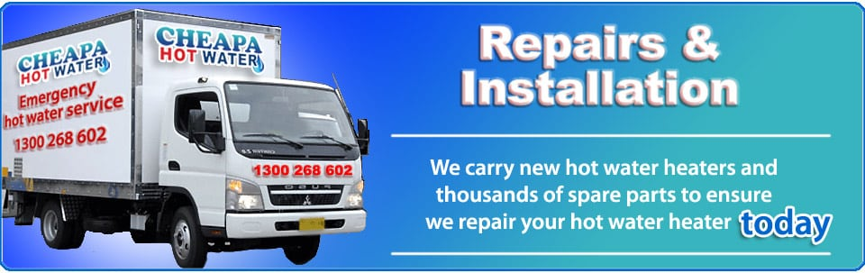 hot water heater repairs