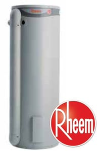 rheem plus electric hot water system