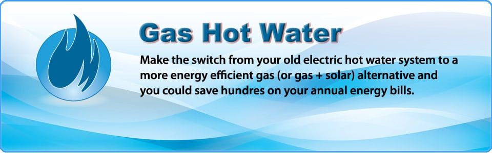 switch to gas hot water and save
