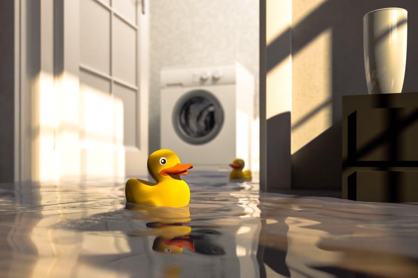 leaking hot water