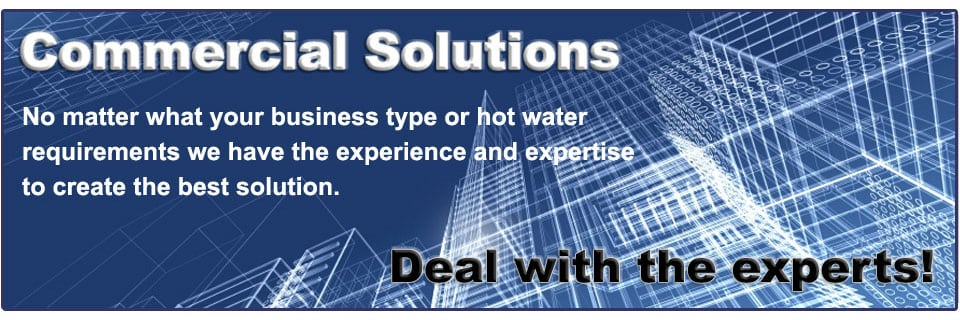 commercial hot water