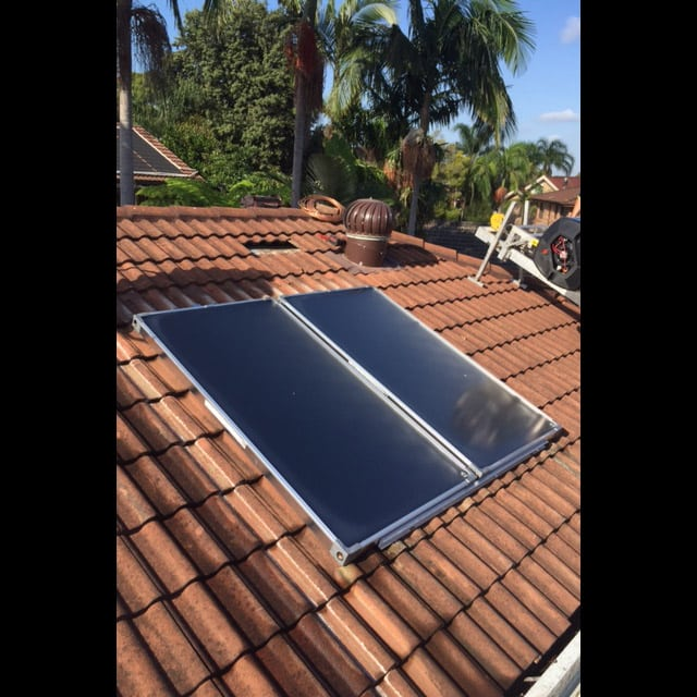 fix solar hot water system Belrose northern beaches