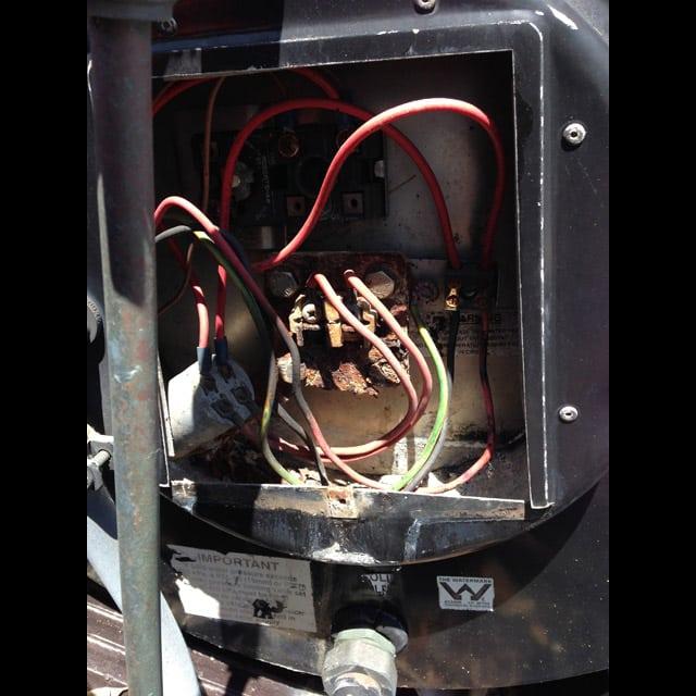repair solar hot water heater Belrose northern beaches