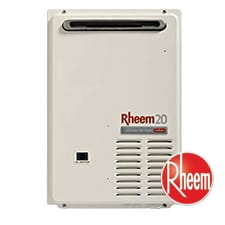 Rheem hot water tank gas