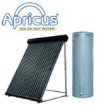 apricus solar hot water heater
