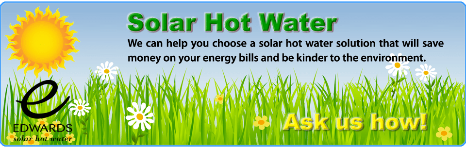 edwards solar hot water heater