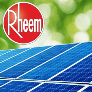 rheem solar hot water
