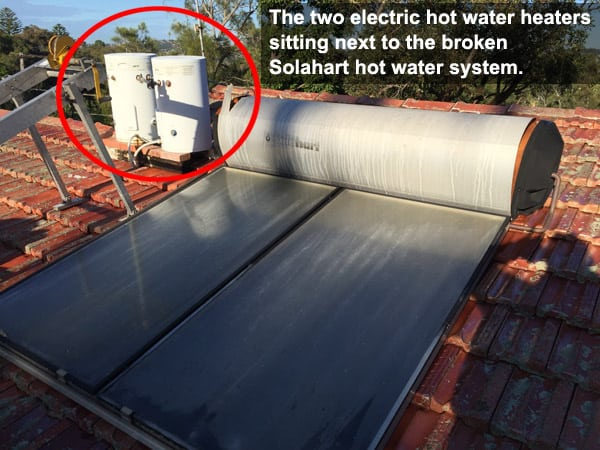 northern beaches solar hot water repair