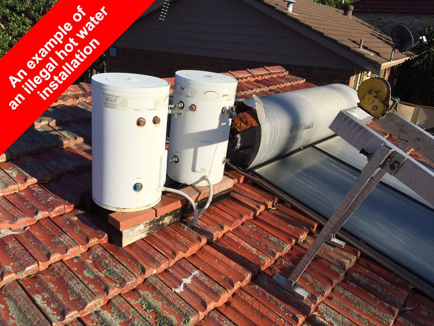solar hot water repair northern beaches