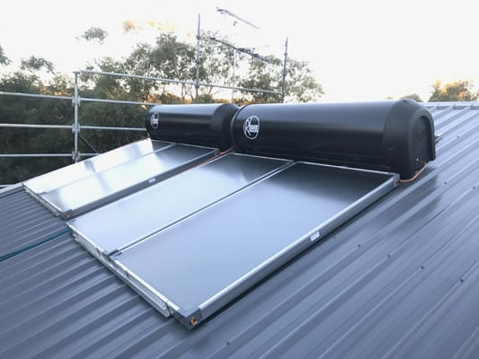 hills district solar hot water