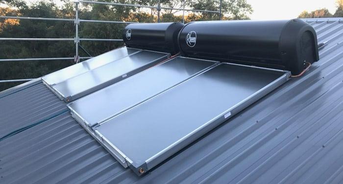 solar hot water system installation castle hill