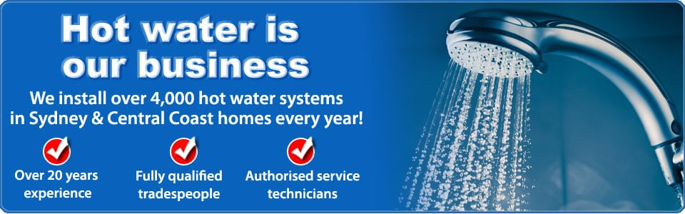 sydney gas hot water specialists