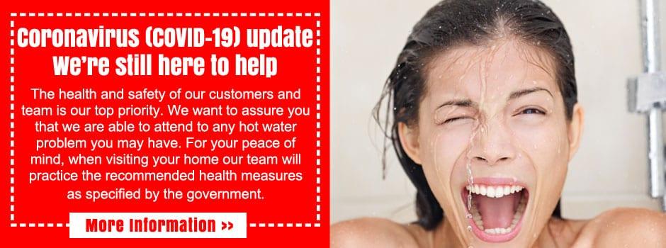 sydney hot water repairs caronavirus