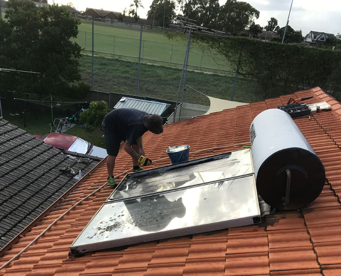 emergency repair solar panel
