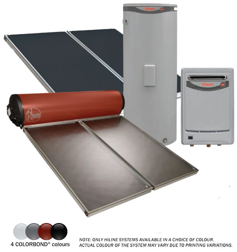 rheem solar hot water agents sydney